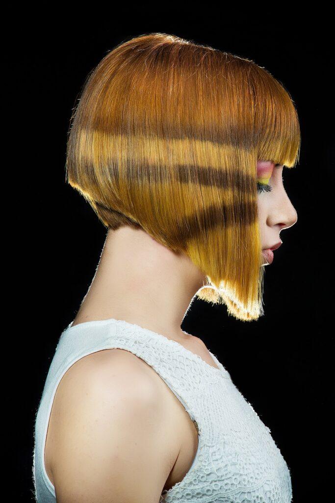 Флисинг можно делать и на коротких волосах.