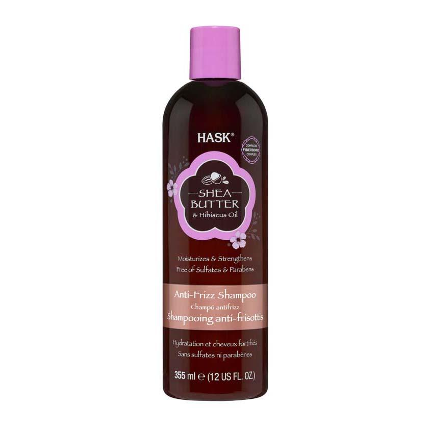 Шампунь для непослушных волос с маслом ши и экстрактом гибискуса, HASK.