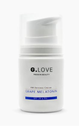 Дневной защитный крем для лица - SPF 20, G.LOVE.